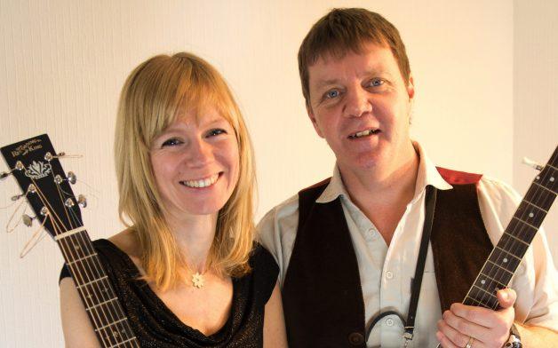 Stephen og Pernille Quigg
